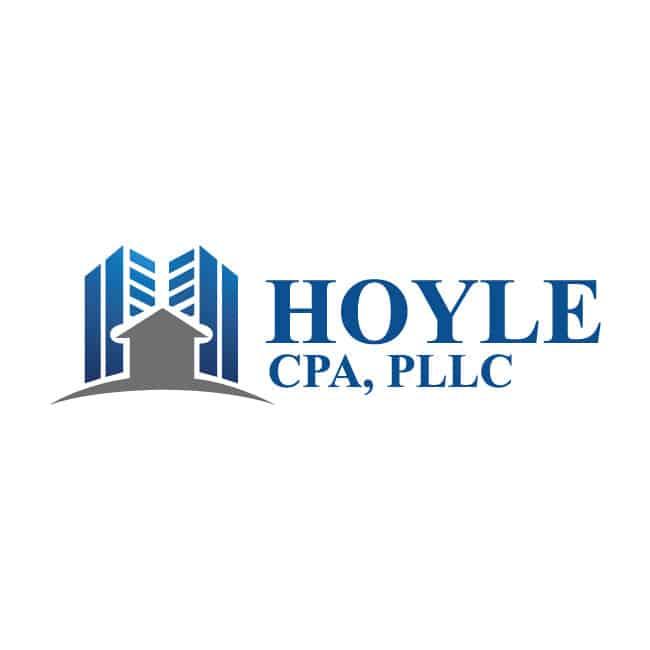Accounting Logo Design Hoyle CPA
