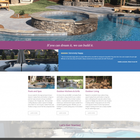 Custom Raleigh Pool Builder Azalea Pools And Outdoor Living desktop