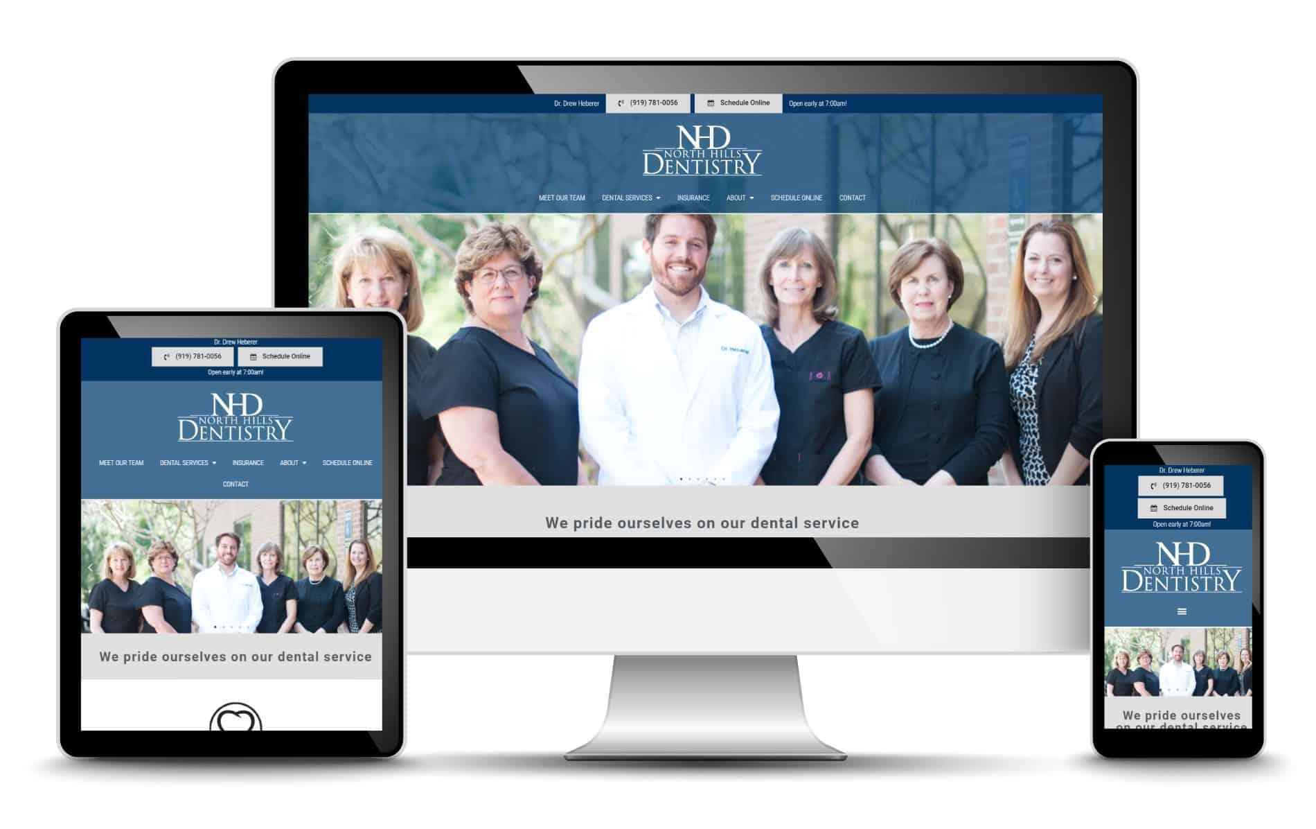 Dental Practice Website Design