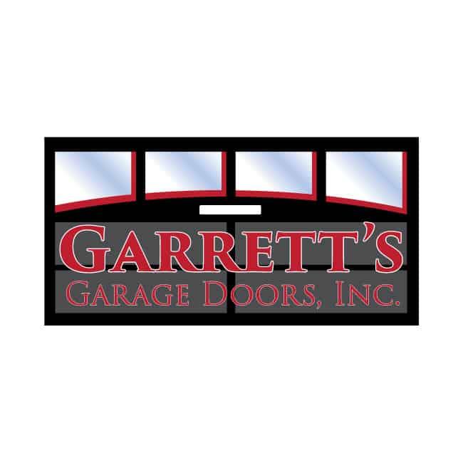 Garage Door Logo Design Garrett's Garage Doors