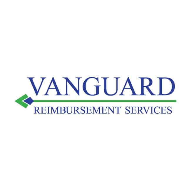 Health Care Logo Design Vanguard Reimbursement Services