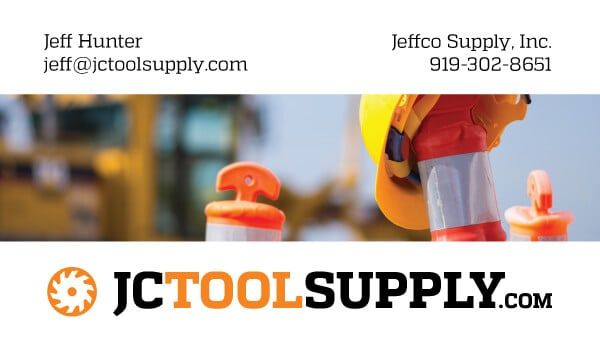 Jeffco Retail Business Card Design Front