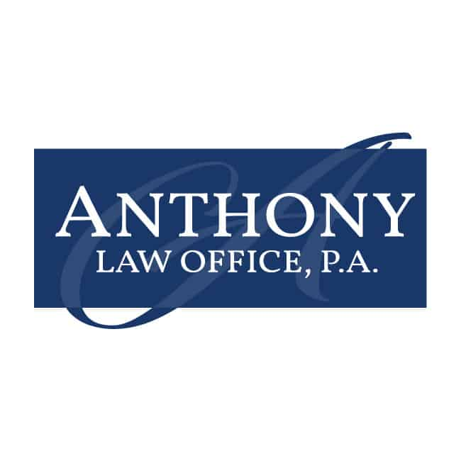 Law Firm Logo Design - Anthony Law Office