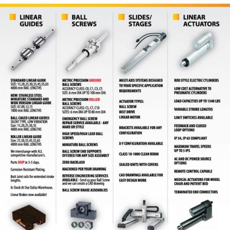 Actuator Manufacturing Brochure Design