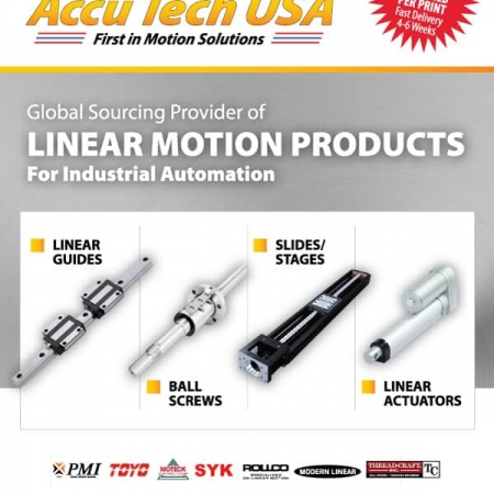 Accutech Manufacturing Flyer Design