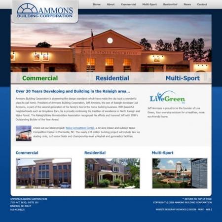 Ammons Building Builder Web Design & Development