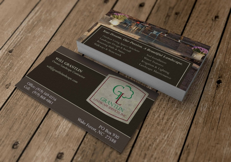 business card landscaper