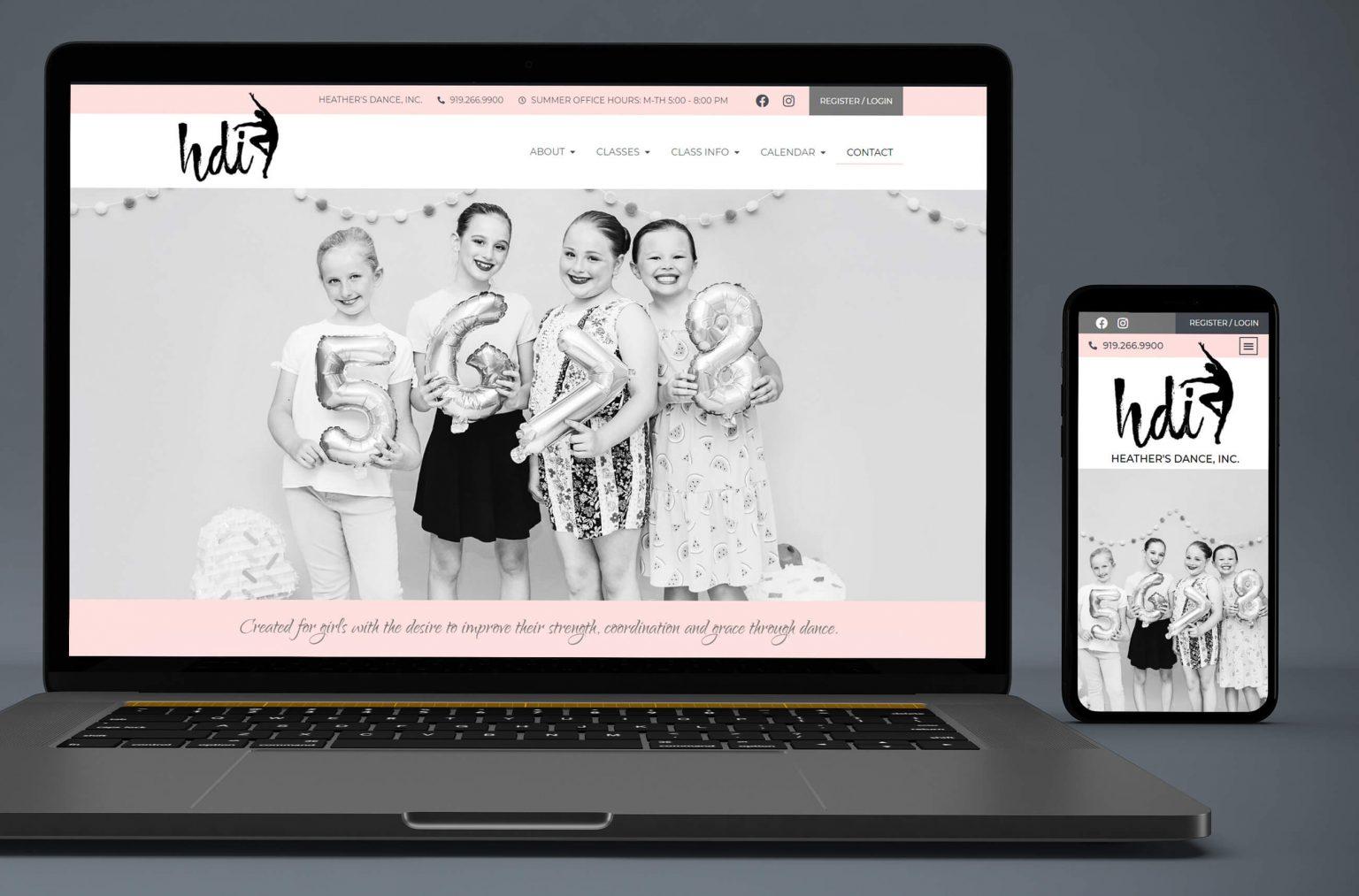 dance-studio-website-designer