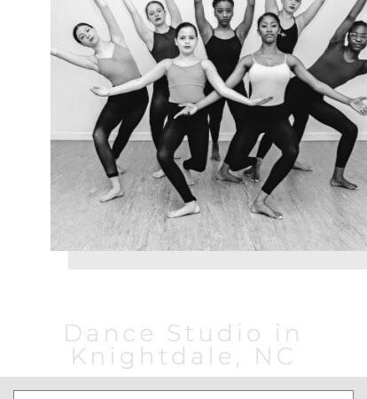 dance-studio-website-development