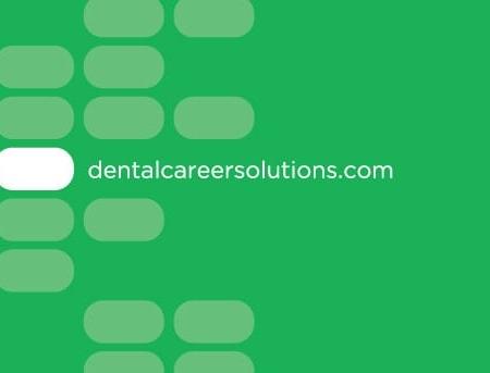 Dental Career Solutions Education Business Card Designs
