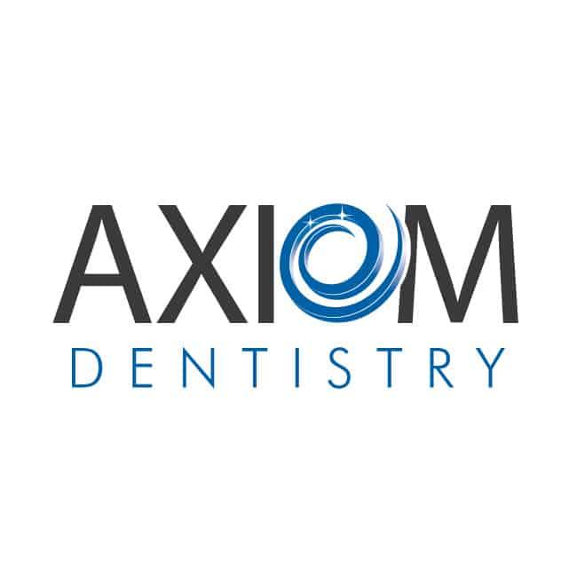dentist logo design for axiom dentistry