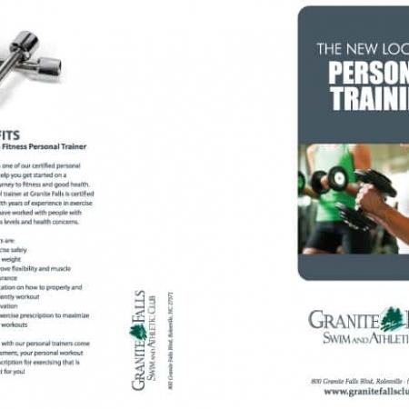 Athletic Club Brochure Designs