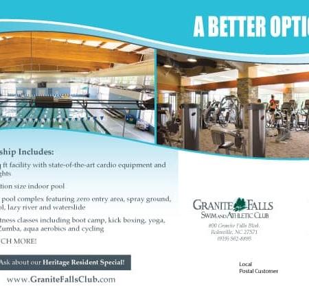Swim & Athletic Club Fitness Postcards