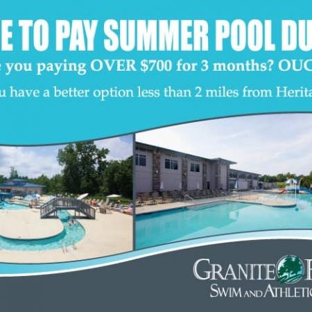 Granite Falls Athletic Club Postcard Design