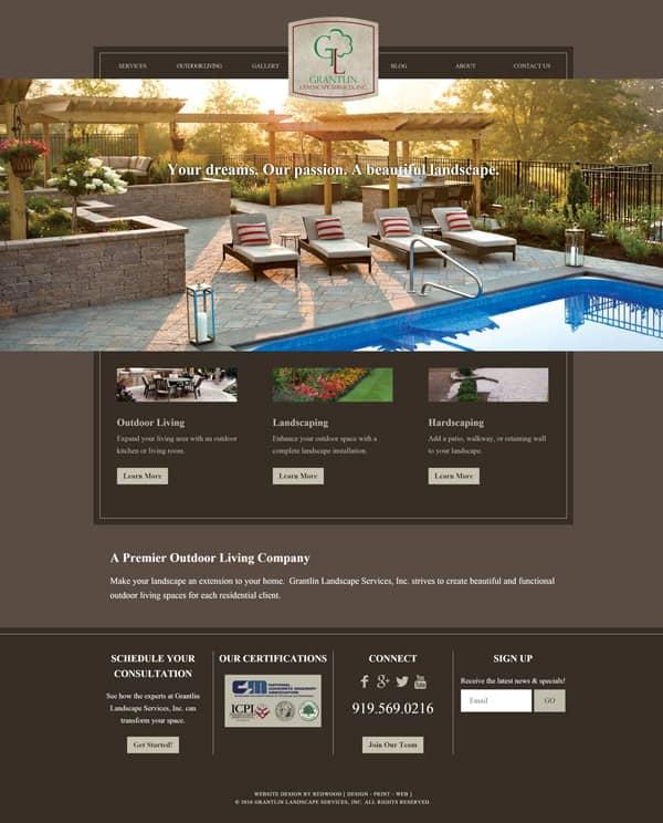 Grantlin Landscape Web Design & Development