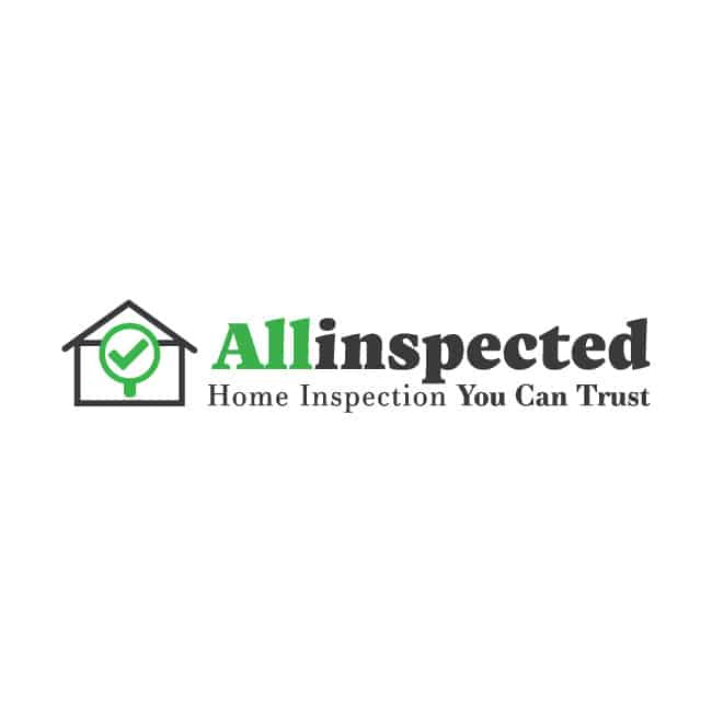 home inspection company logo design allinspected