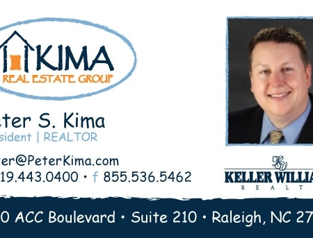 Kima Real Estate Business Card Design