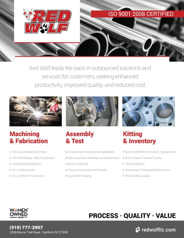 Manufacturing Flyer Design