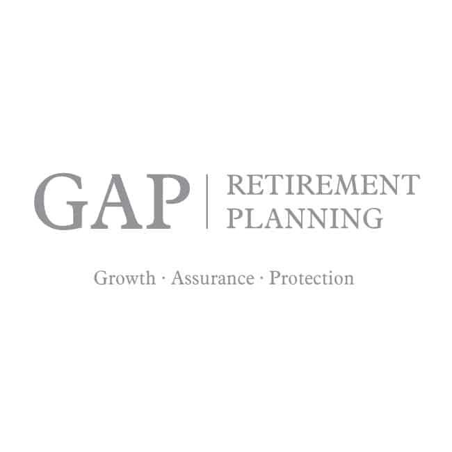 retirement planning logo design gap retirement planning