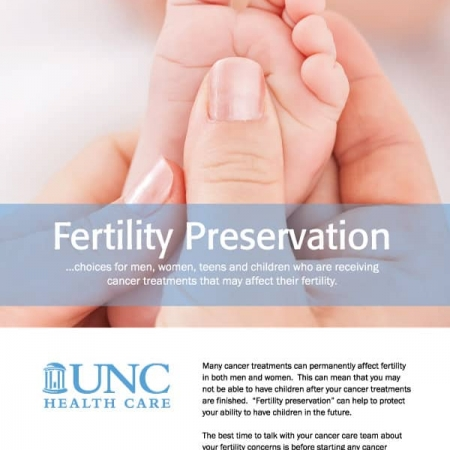 UNC Fertility Brochure Design